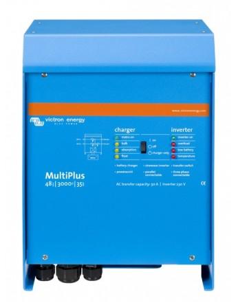 Μετατροπέας - inverter με φορτιστή DC-AC καθαρού ημιτόνου Victron MultiPlus 48/3000/35-16