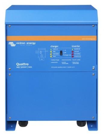 Μετατροπέας - inverter με φορτιστή DC-AC καθαρού ημιτόνου Victron Quattro 24/5000/120-100/100