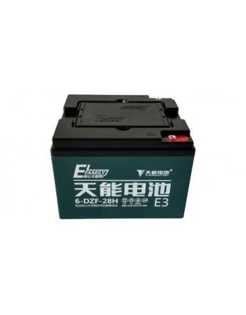 Μπαταρία Tianneng 6DZF28H / TNE12-35 - AGM τεχνολογίας ηλεκτρικών οχημάτων - 12V 28Ah (C2) 35Ah (C20)
