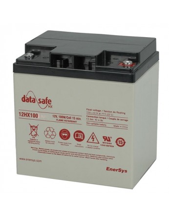 Μπαταρία DATASAFE 12HX100S High rated - long life VRLA - AGM τεχνολογίας - 12V 100 watt /
