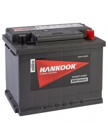 Μπαταρία αυτοκινήτου HANKOOK EFB Start & Stop SE57010 - 12V 70 Ah - 650CCA A(EN) Εκκίνησης