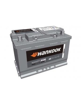 Μπαταρία αυτοκινήτου HANKOOK AGM Start & Stop SA57020 - 12V 70 Ah - 760CCA A(EN) Εκκίνησης