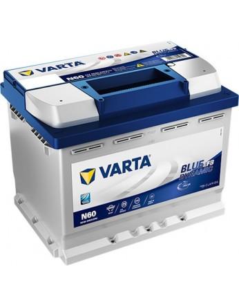 Μπαταρία αυτοκινήτου Varta Start Stop EFB N60 - 12V 60 Ah - 640CCA A(EN) εκκίνησης