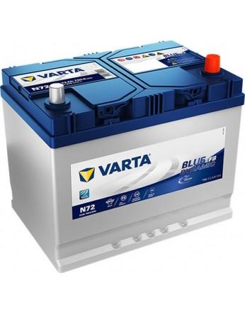 Μπαταρία αυτοκινήτου Varta Start Stop EFB N72 - 12V 72 Ah - 760CCA A(EN) εκκίνησης
